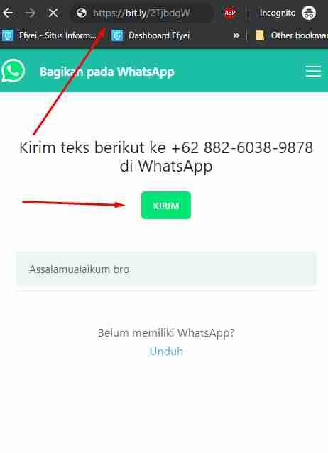 bitly whatsapp