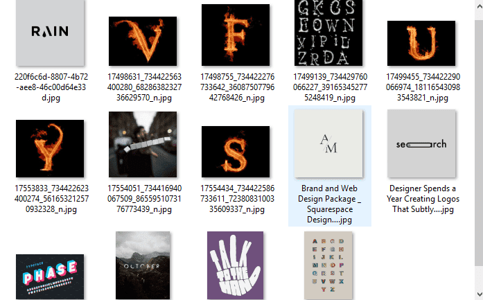 Mentahan Typography